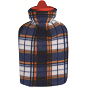 בקבוק מים חמים עם כיסוי פליס Fleece Hot Water Bottle