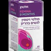 פרנטל 9 חודשים מולטי ויטמין לנשים בהריון Prenatal