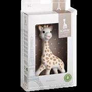 סופי הג'ירפה: נשכן צעצוע מחומרים טבעיים Sophie the Giraffe
