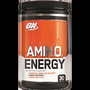 אבקה להכנת משקה בתוספת קפאין בטעם תפוז Essential Amino Energy