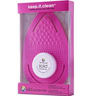 משטח ניקוי לספוגית וסבון מיני-סוליד
