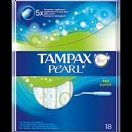 טמפוני Tampax Pearl Super