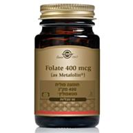 """מטאפולין 400 מק""""ג Natural Folic Acid"""