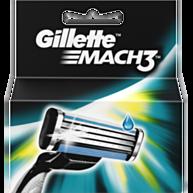 מאך 3: 4 סכיני גילוח Mach 3 Shaving Blades