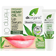 סרום לשפתיים שמן המפ אורגני Hemp Oil Lip Serum