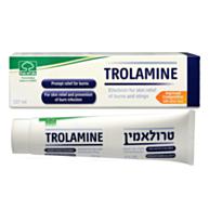 טרולאמין - תחליב המסייע להרגעת העור לאחר כוויות וצריבות