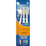 מברשות שיניים קלאסיק 123 - דרגת קשיחות מדיום